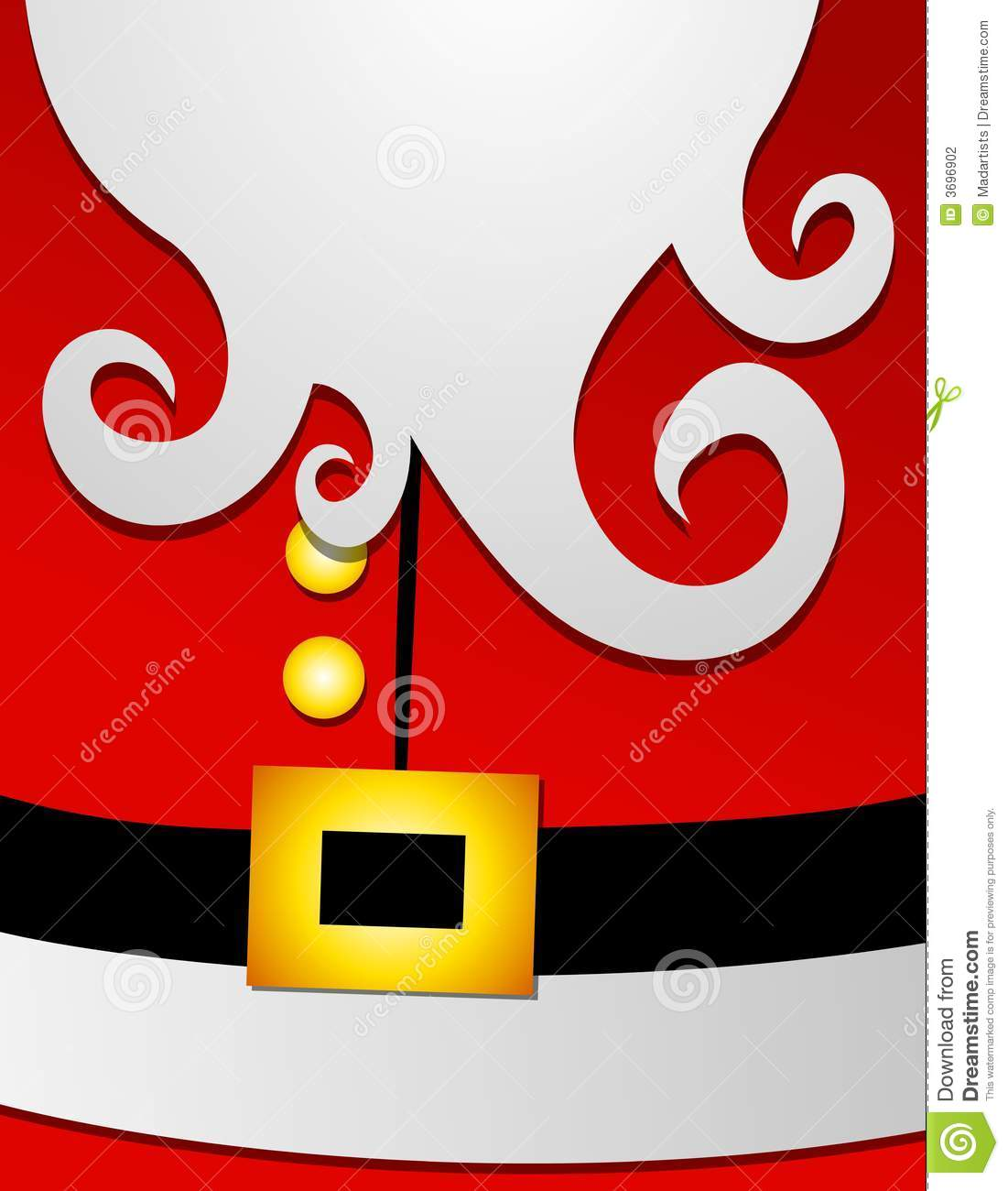 Sanya clipart belly And clipart beard  Santa