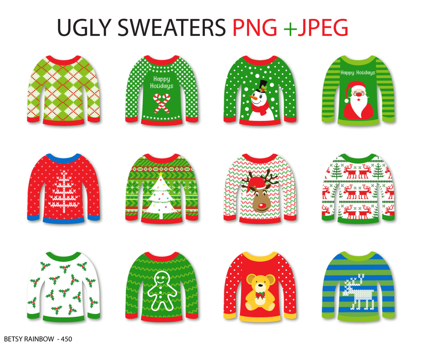 Coat clipart sweater Ugly clipart cliparts clip Etsy