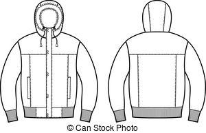 Coat clipart vector Illustration of Clip jacket