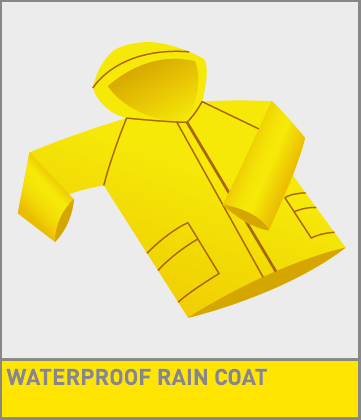 Coat clipart waterproof You PREPARED Survivor a can
