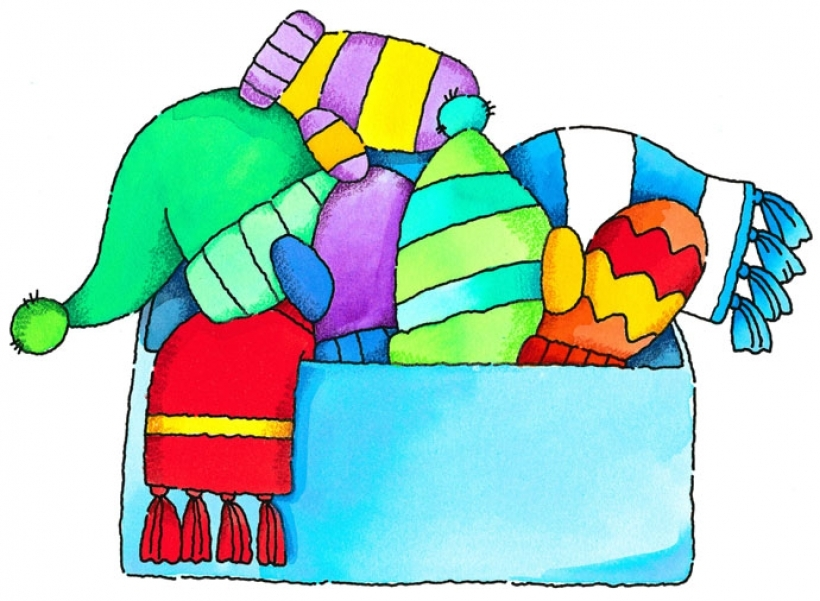 Winter clipart winter outfit Art Cliparts Free Winter Clip