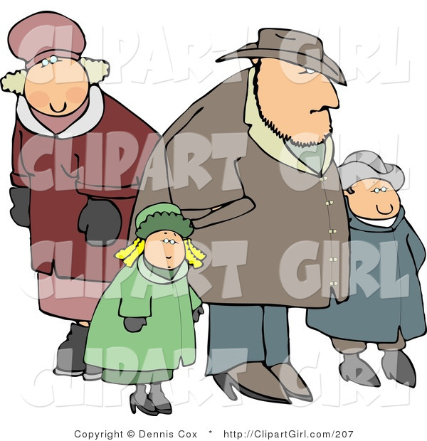 Coat clipart winter season Out a Clip Family in