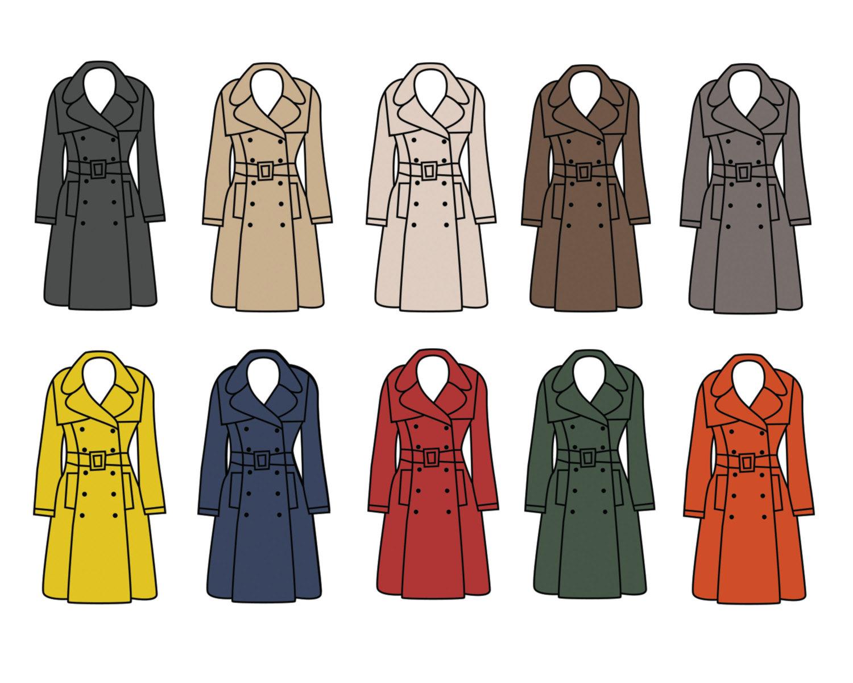 Coat clipart womens clothing Clipart Coats Fall cliparts Jackets