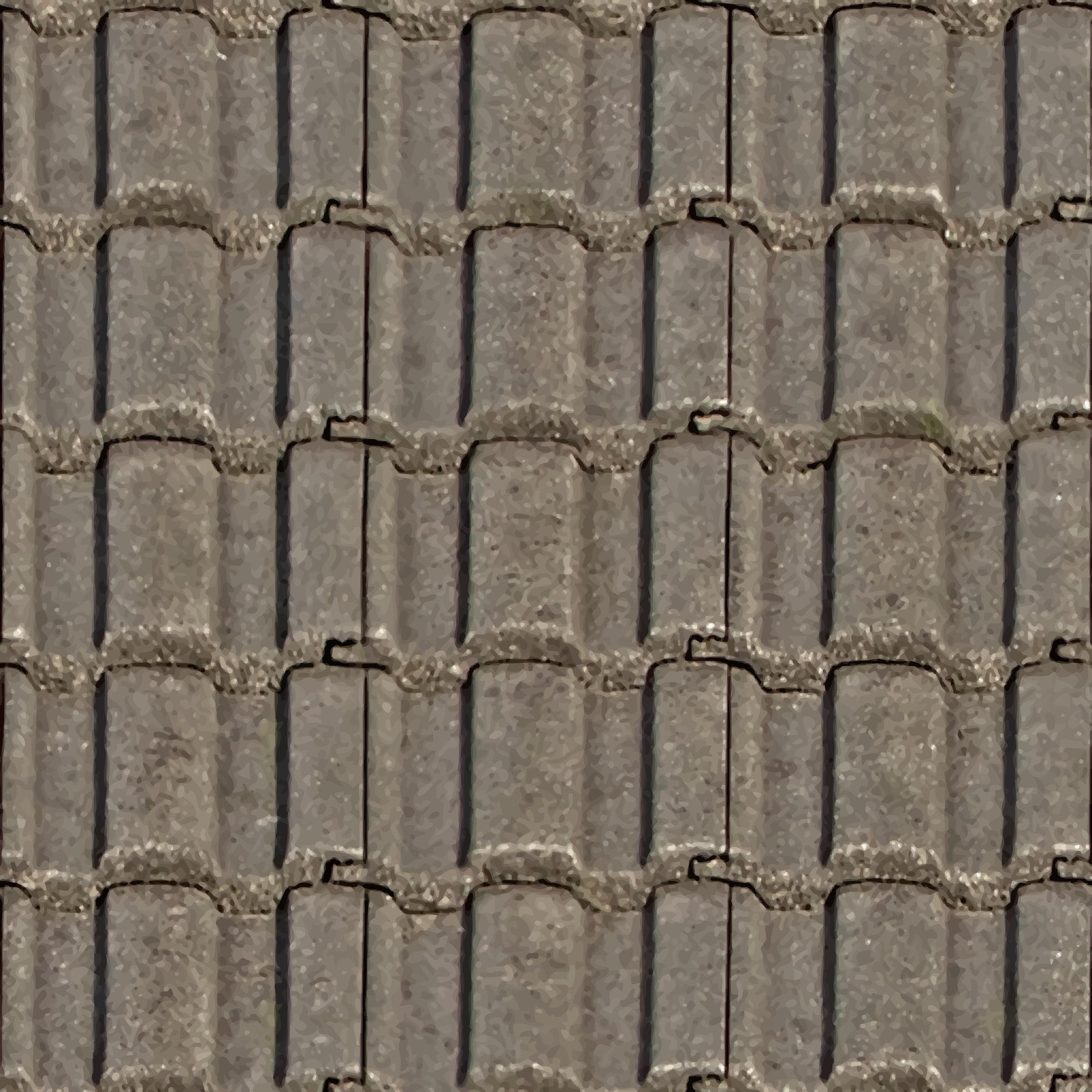 Cobblestone clipart big Roof tiles Clipart BIG IMAGE