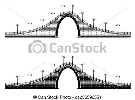 Cobblestone clipart bridge Lantern arch of Clipart an
