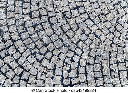 Cobblestone clipart pavement  Photo background Grey background