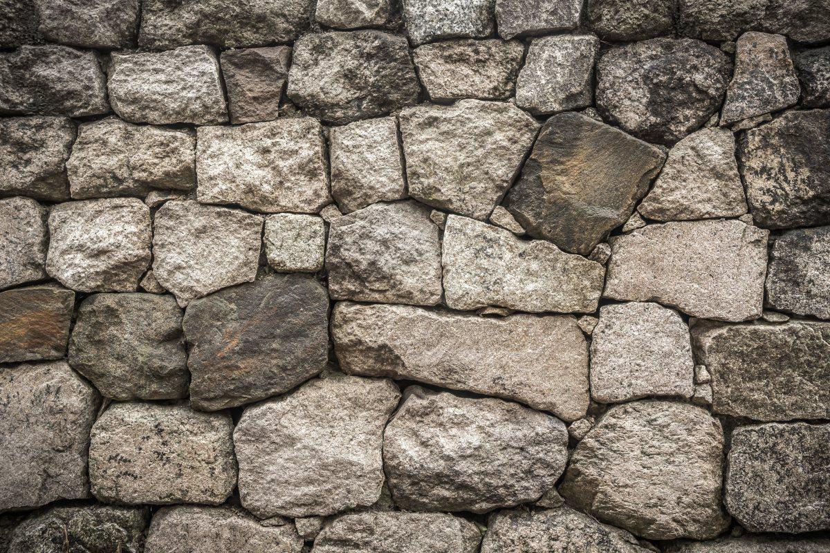 Cobblestone clipart rubble Building cobblestone rock black :