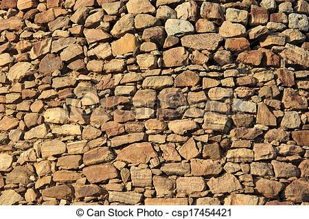 Cobblestone clipart rubble Stock neatly Stock Wall of