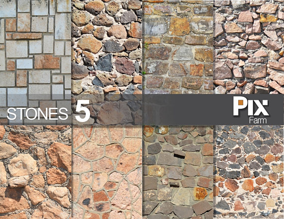 Cobblestone clipart wall texture Stone natural paper rocks texture