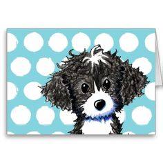 Cockapoo clipart By on Card  Cockapoo