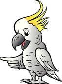 Cockatoo clipart Cockatoo Cockatoo; Sulphur Art Crested