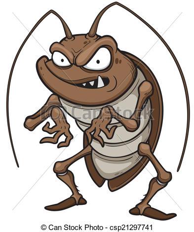 Cockroach clipart Art cockroach Vector clipart 656