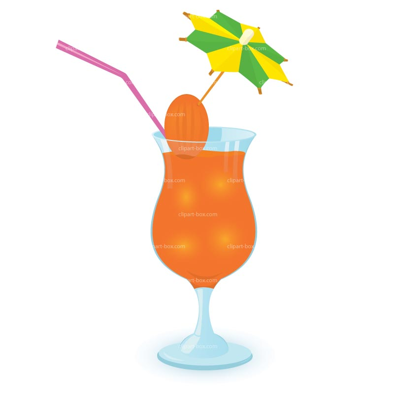 Smoothie clipart beach drink Cocktail Panda Clipart Art Clip