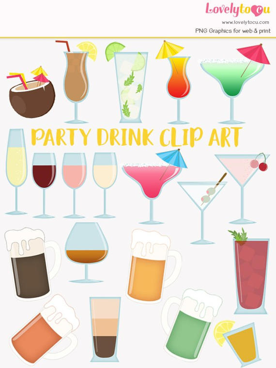 Beer clipart martini #3