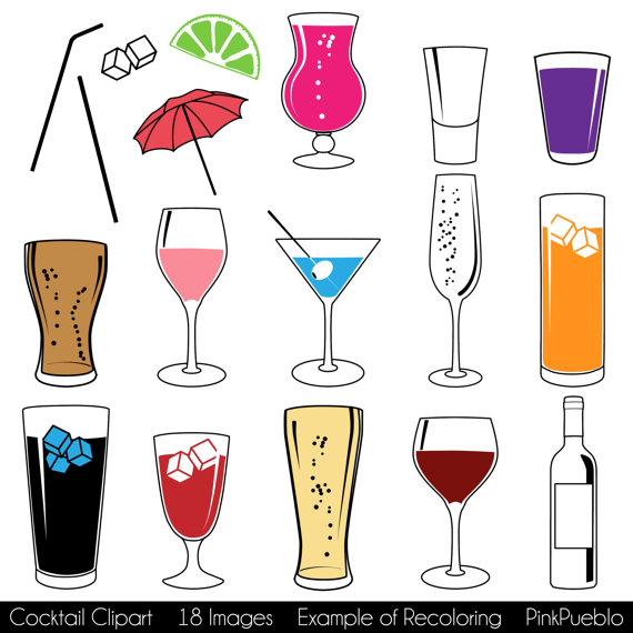 Beer clipart martini #1