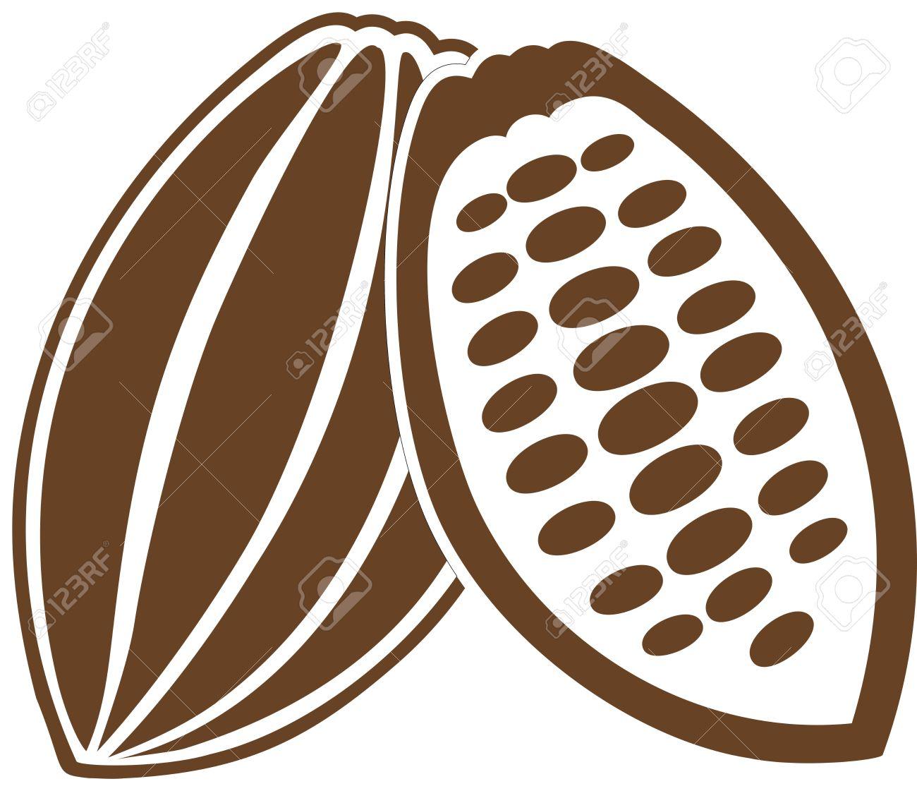 Bean clipart cocoa bean Green Cocoa Leaves beans collection