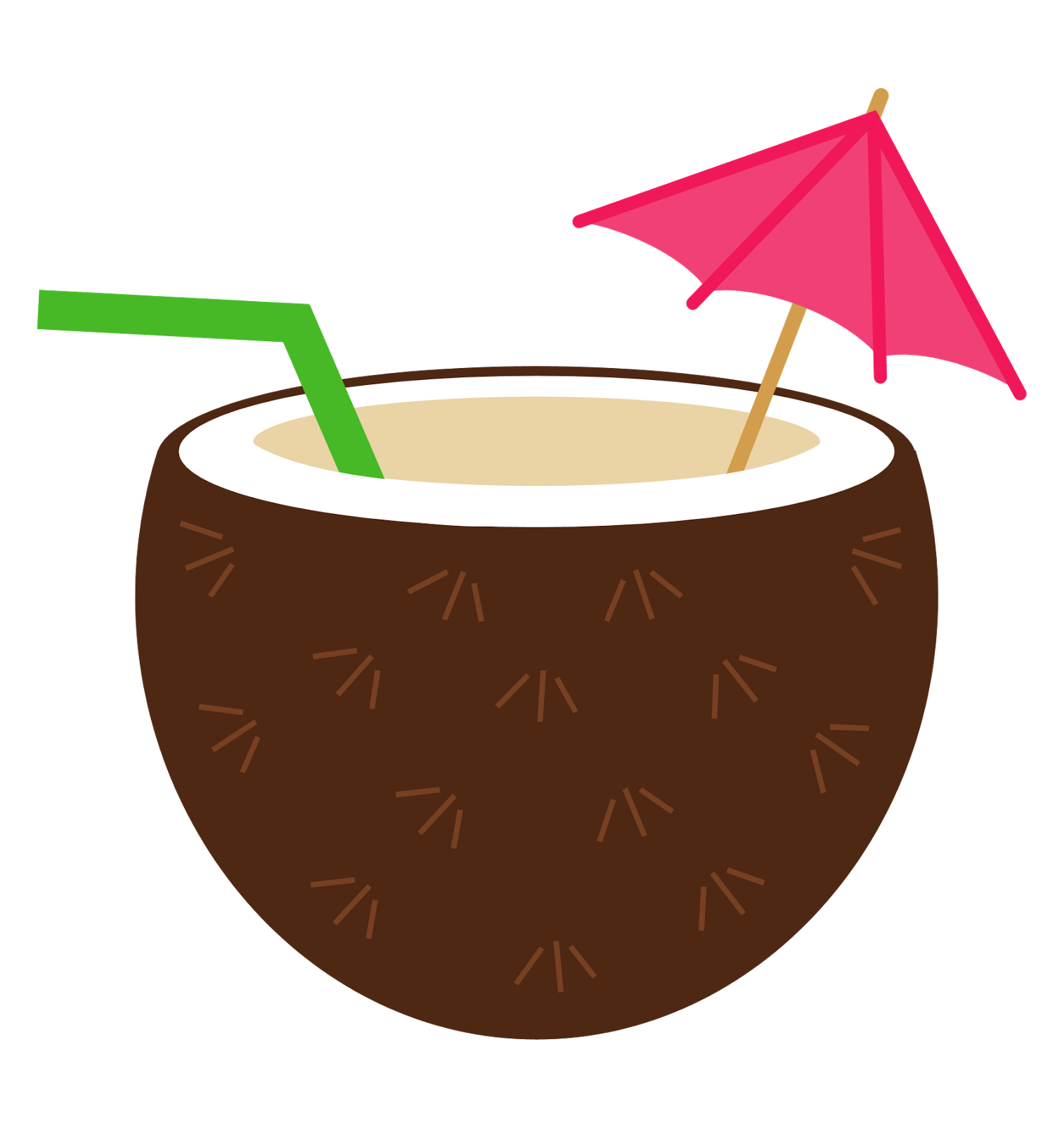 Hut clipart tropical #15