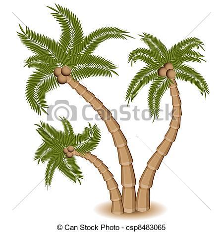 Palm Tree clipart group Tree group Palm a Tree