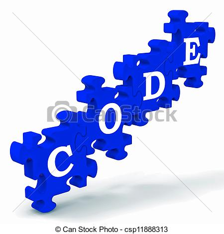 Code clipart Showing Clipart Showing Codification Encoding