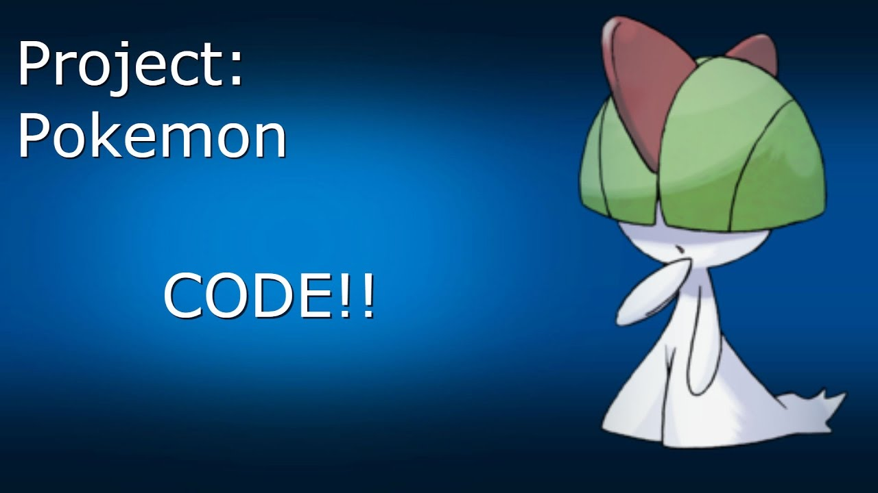 Code clipart project result Pokemon Project: ROBLOX Pokemon YouTube