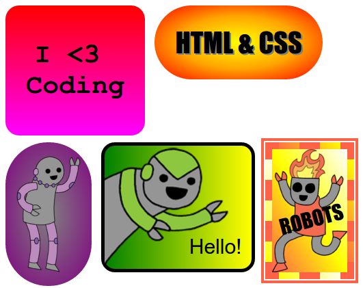 Code clipart project result Stickers! screenshot — Projects World