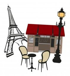 Coffee clipart bistro More Bistro Sitting Pin Cafe