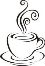 Coffee clipart black and white Www coffee images best my