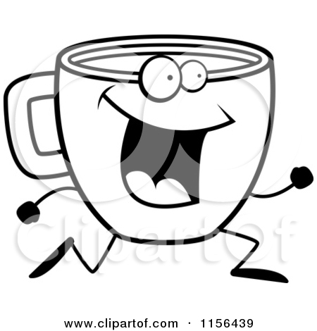 Coffee clipart cartoon Clip Cookie White smart%20cookie%20clip%20art%20black%20and%20white And