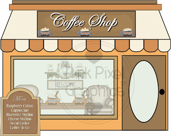 Coffee clipart coffee house Free clipart Shop coffee art