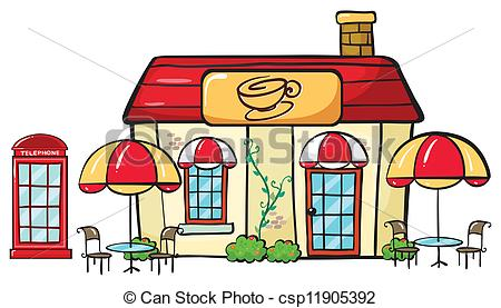 Coffee clipart coffee house A EPS Vectors on shop