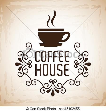Coffee clipart coffee house Clipart Vector design coffee background