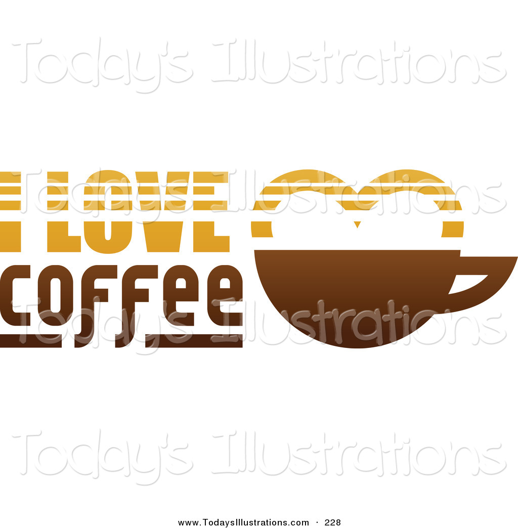 Coffee clipart coffee love By of an on Coffee