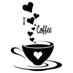 Coffee clipart coffee love Cups digital love Coffee