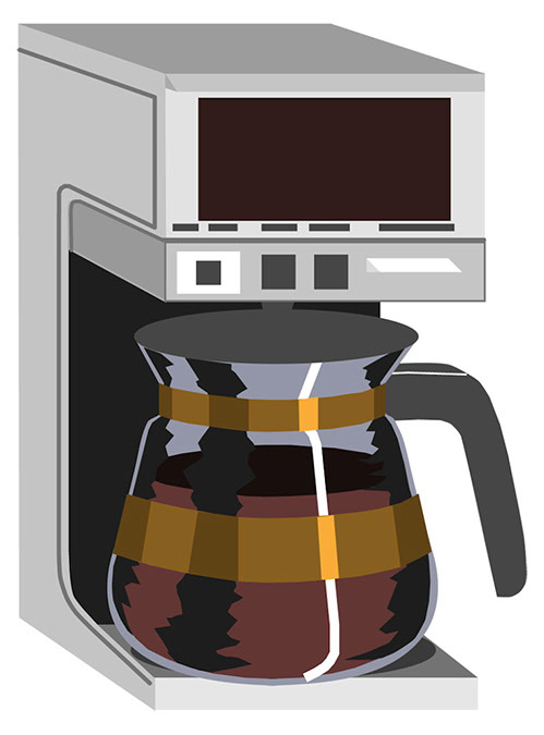 Coffee clipart coffee machine  Maker Coffee Clipart