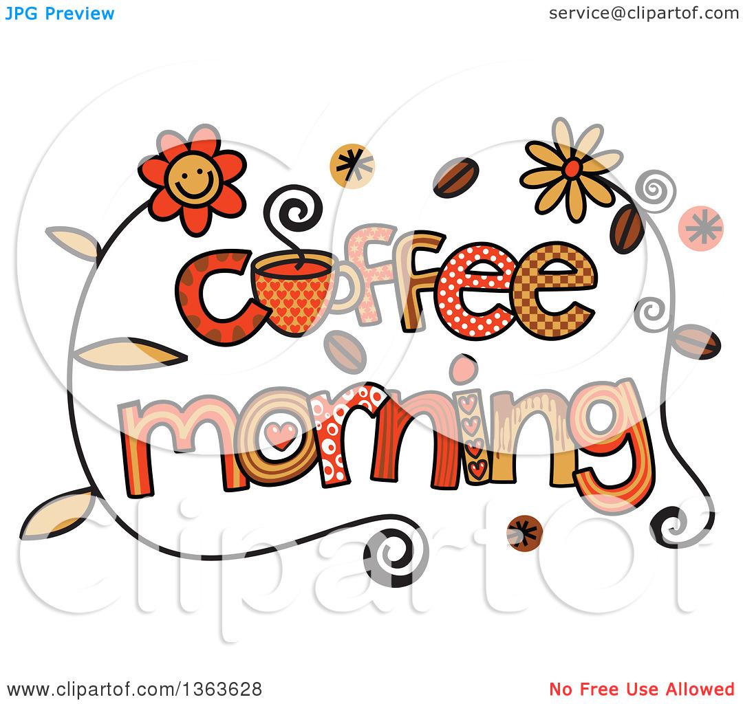 Coffee clipart coffee morning Morning Coffee Art Coffee Download