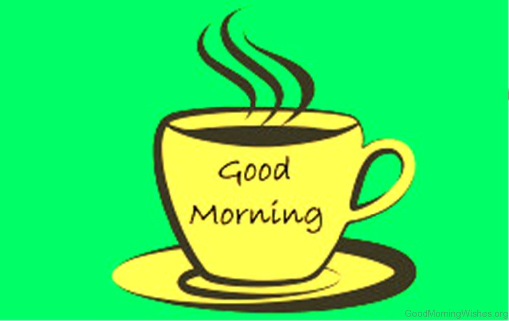 Coffee clipart coffee morning Good Morning Clip Image Good