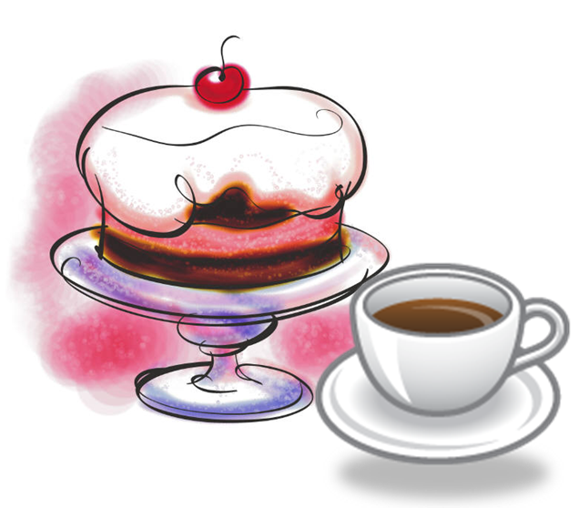 Coffee clipart coffee morning Vintage the info? Cafe info?