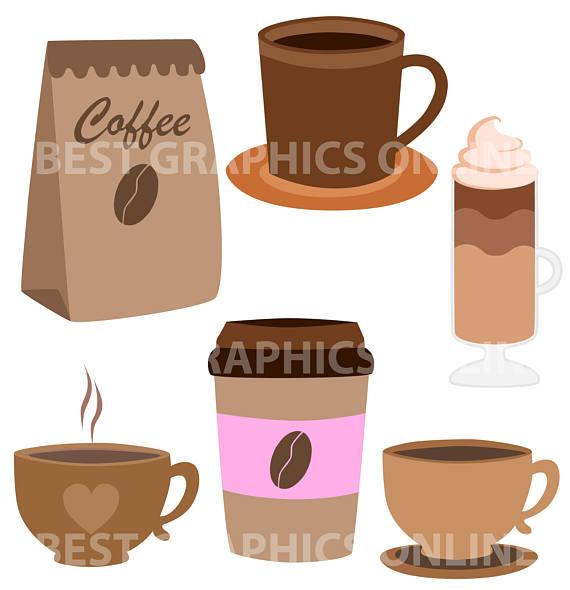 Coffee clipart sandwich Art image clip Coffee SALE