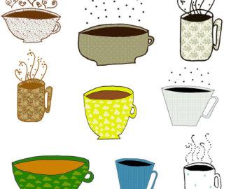 Coffee clipart cute Cute Time  Coffee Clipart