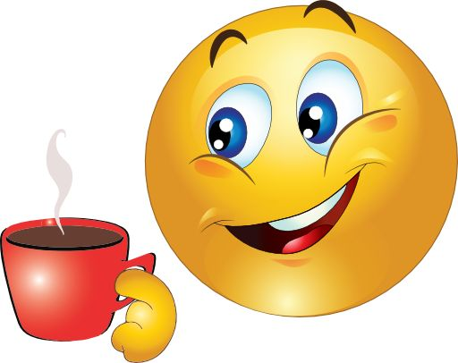 Coffee clipart emoji Smiley on Cup best and