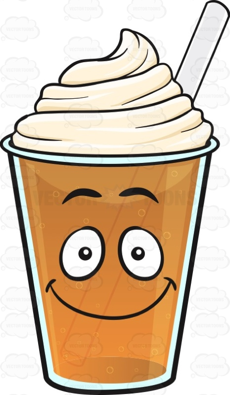 Coffee clipart emoji Emoji #beverage Happy Frappe #blessed