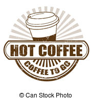 Coffee clipart hot coffee  grunge Hot Hot Hot