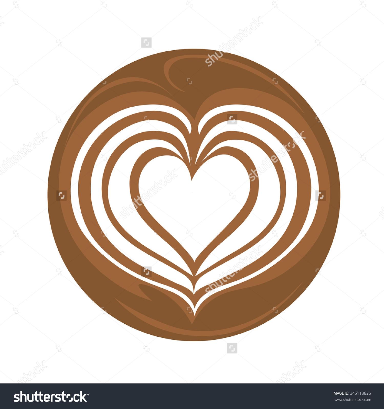 Coffee clipart latte art Latte clipart art clipart art