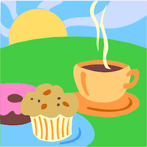 Coffee clipart muffin Coffee of free & Muffin
