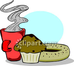 Coffee clipart muffin Royalty Muffin Royalty Picture Coffee
