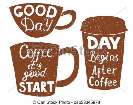 Coffee clipart sandwich Tea  and csp38345878 paper