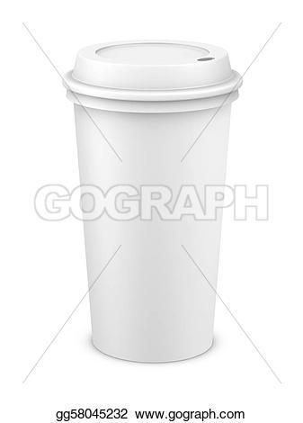 Coffee clipart plastic glass Drawing plastic a plastic Coffee