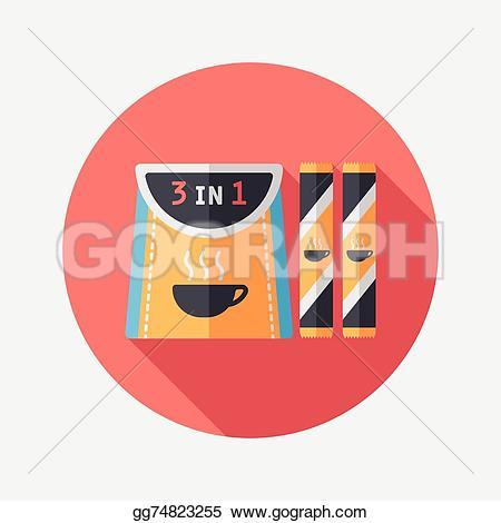 Coffee clipart shadow Shadow icon gg74823255 coffee long