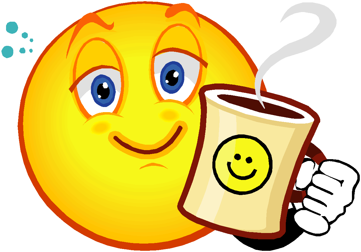 Coffee clipart smile Coffee Parent October School Marie