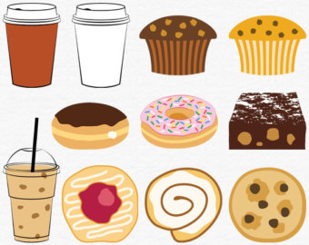 Coffee clipart vintage coffee Bakery Cup Clipart Art Fashion